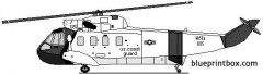 sikorski hh 52 uscg model airplane plan