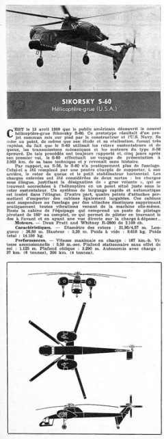 sikorski s60 model airplane plan