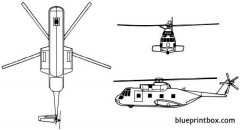 sikorsky ch 3e hh 3e jolly green giant model airplane plan