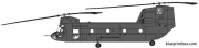 sikorsky ch 47a chinook model airplane plan