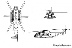 sikorsky ch 53 sea stalion model airplane plan