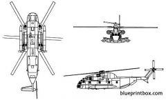 sikorsky ch 53 sea stallion model airplane plan