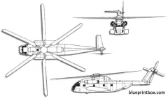 sikorsky ch 53 super stallion model airplane plan