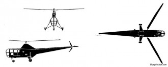 sikorsky dragonfly s 51 model airplane plan