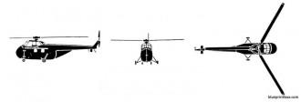 sikorsky h 19 chickasaw model airplane plan