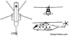 sikorsky h 3 sea king model airplane plan