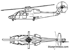 sikorsky h 76 eagle model airplane plan