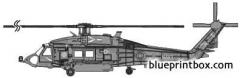 sikorsky hh 60h model airplane plan