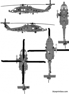 sikorsky hh 60h rescue hawk model airplane plan