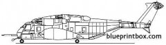 sikorsky mh 53e seadragon model airplane plan
