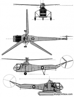 sikorsky r 4 02 model airplane plan