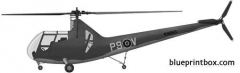 sikorsky r 6 hoverfly ii model airplane plan