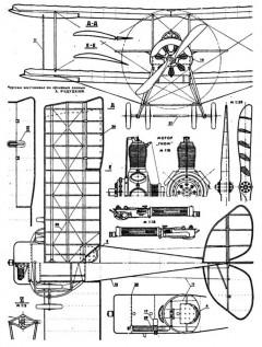 sikorsky s16 2 3v model airplane plan
