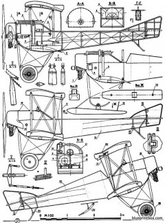 sikorsky s 16 model airplane plan