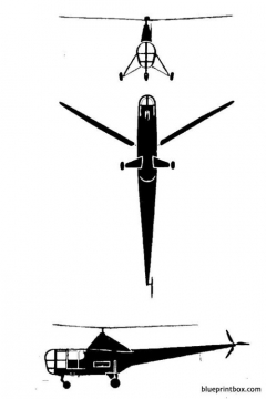 sikorsky s 51 model airplane plan