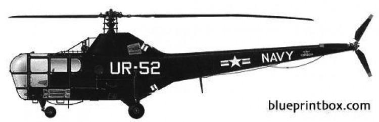 sikorsky s 51 2 model airplane plan