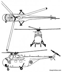 sikorsky s 55 chickasaw model airplane plan