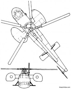 sikorsky s 56 ch 37 mojave model airplane plan