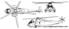 sikorsky s 61 sea king model airplane plan