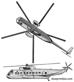sikorsky s 61n model airplane plan