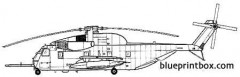 sikorsky s 65 hh 53b jolly green giant model airplane plan