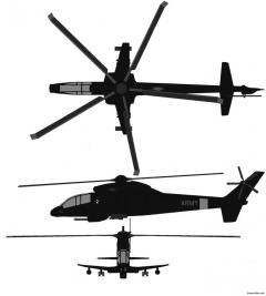 sikorsky s 67b blackhawk model airplane plan
