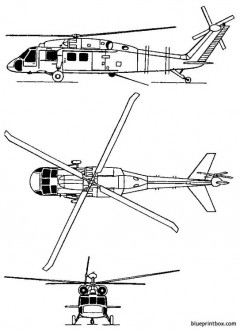 sikorsky s 70 eh 60a quick fix ii model airplane plan