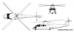 sikorsky s 76 mk ii model airplane plan