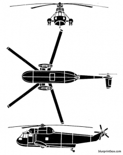 sikorsky sh 3 sea king model airplane plan