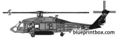 sikorsky sh 60f model airplane plan