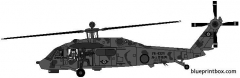 sikorsky uh 60j blackhawk model airplane plan