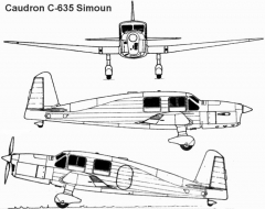 simoun 1 3v model airplane plan