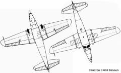 simoun 2 3v model airplane plan