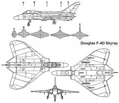 skyray 3v model airplane plan