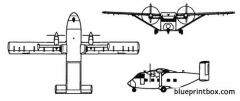 skyvan 3m model airplane plan