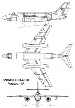 sncaso vautour2 3v model airplane plan