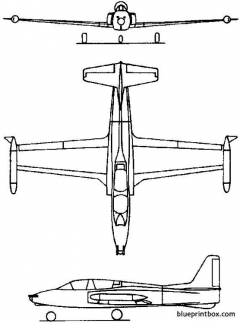soko g 2 galeb 1961 yugoslavia model airplane plan
