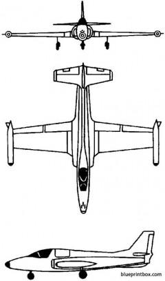 soko j 1 jastreb 1970 yugoslavia model airplane plan