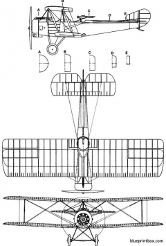 sopwith11 2 strutter model airplane plan