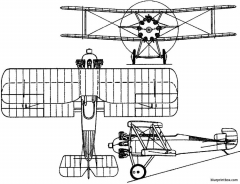 sopwith snapper 1919 england model airplane plan
