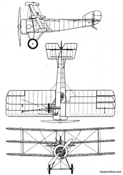 sopwith triplane model airplane plan