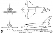 space shuttle 2 model airplane plan