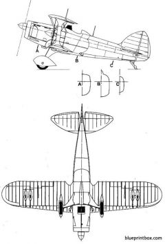 spad 510 2 model airplane plan
