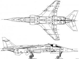 specat jaguar 2 10 model airplane plan