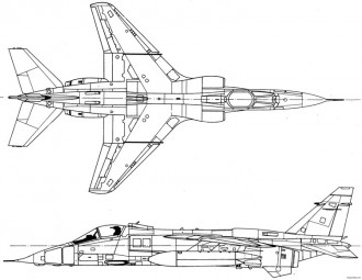specat jaguar 2 9 model airplane plan