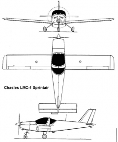 sprintair 3v model airplane plan