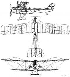 standard j model airplane plan