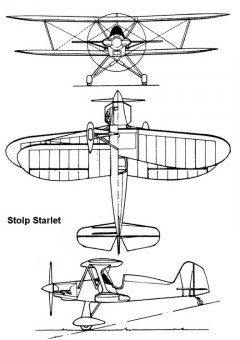 starlet 3v model airplane plan