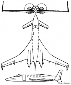 starship model airplane plan