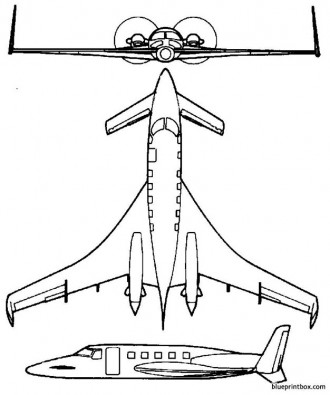 starship 2 model airplane plan